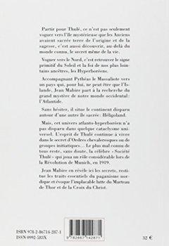 Livres Couvertures de Thulé : Le Soleil retrouvé des hyperboréens