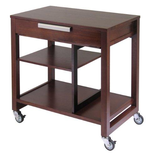 Picture of Comfortable Antique Walnut Computer Desk (B002FDHBFC) (Computer Desks)