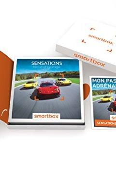 Livres Couvertures de SMARTBOX - Coffret Cadeau - SENSATIONS CIRCUIT ET PILOTAGE - 500 activités : stages jusqu'à 3 tours : Lamborghini, Ferrari , Porsche