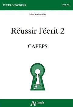 Livres Couvertures de Réussir l'écrit 2 CAPEPS