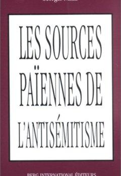 Livres Couvertures de SOURCES PAIENNES DE L'ANTIJUDAISME: suivi de L'antijudaïsme d'un père de l'église : Jean Chrysostome