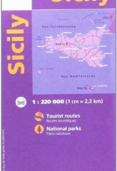 Livres Couvertures de Sicile - 1/220,000