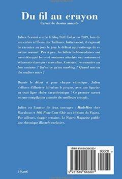 Livres Couvertures de Du fil au crayon: Carnet de dessins annotés