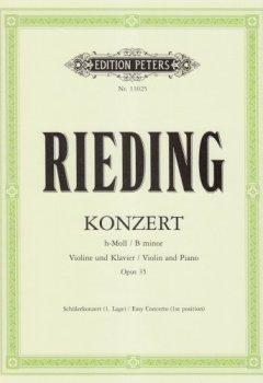 Livres Couvertures de Concert B Minor Op.35  Violon