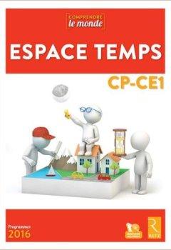 Livres Couvertures de Espace Temps CP-CE1 (+ DVD-Rom)