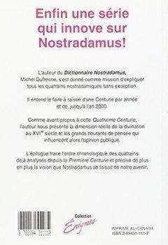 Livres Couvertures de Nostradamus, quatrième centurie