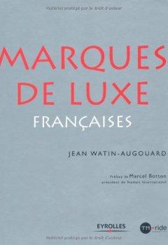 Livres Couvertures de Les marques de luxe françaises