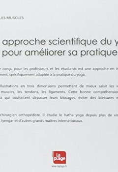 Livres Couvertures de Yoga anatomie Les muscles - tome 1