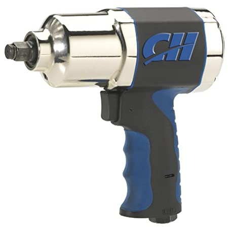 Campbell Hausfeld sets the standard in performance and durability of air tools for the automotive world.  This 1/2-Inch impact wrench is ideal for tire rotation, brake repairs, exhaust repairs, and the loosening or tightening of any other bolts with ...