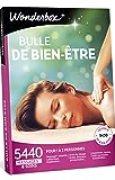 Wonderbox – Coffret cadeau Femme - BULLE DE BIEN ETRE– 5440 massages, modelage, gommage, hammam, spa