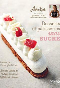 Livres Couvertures de Desserts et pâtisseries sans sucre