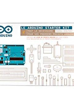 Livres Couvertures de Arduino–Starter Kit Arduino k020007manuel en français