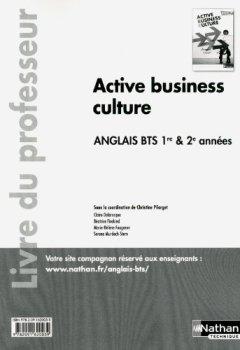 Active business culture - BTS 1re et 2e années > B2 de Indie Author