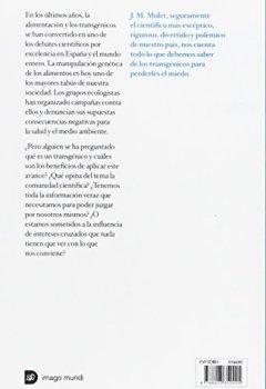 Portada del libro deTransgénicos sin miedo: Todo lo que necesitas saber sobre ellos de la mano de la ciencia (Imago Mundi)