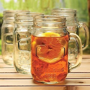 deal on Yorkshire Mason Jar Mug, 4 Pieces jungledealsblog.com