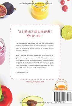 Livres Couvertures de La diversification alimentaire ? Même pas peur ! avec Cooking for my baby