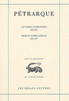Livres Couvertures de Lettres familières, tome IV, Livres XII-XV