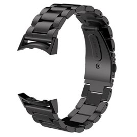 For-Samsung-Galaxy-Gear-S2-A-store-Stainless-Steel-Watche-Band-Connector-For-Samsung-Gear-S2-RM-720-Black