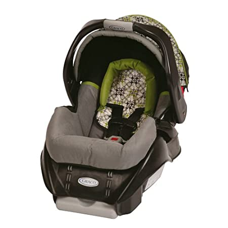 This Graco newborn car seat has a 5-point harness to help keep your child secure.View larger  It's compatible with all Graco Classic Connect strollers, so you can create your own custom travel system.View larger  The SnugRide Classic Connect has b...