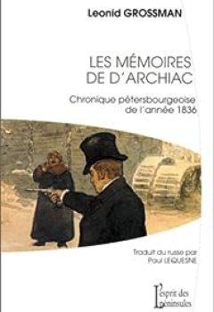 Livres Couvertures de Les Mémoires de d'Archiac