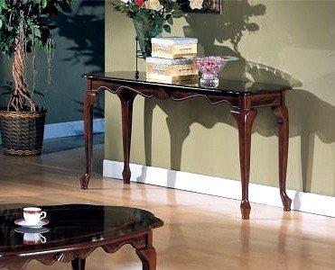 Image of Beautiful Mohagony Console Sofa Table (VF_AZ02-11670)