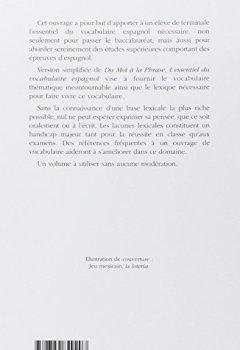 Livres Couvertures de Logos, l'essentiel du vocabulaire espagnol