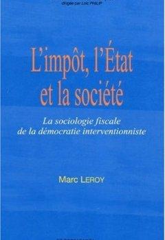 Livres Couvertures de L'impôt, l'Etat et la société
