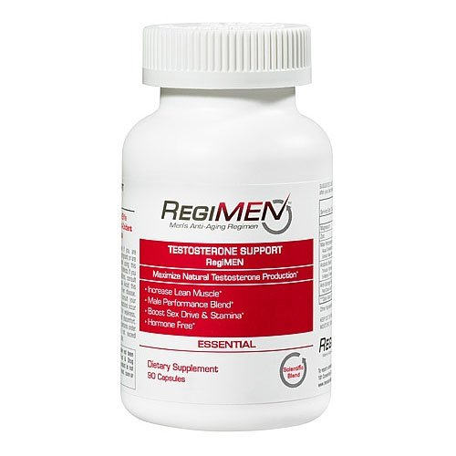 Regimen Testosterone Support, Esencial, 90-Count