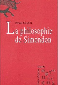 Livres Couvertures de La philosophie de Simondon