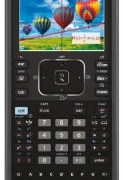 Livres Couvertures de Texas Instruments TI-Nspire CX CAS Calculatrice graphique Noir