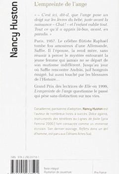 Livres Couvertures de L'empreinte de l'ange - Grand prix des Lectrices de Elle 1999 (Modèle aléatoire)