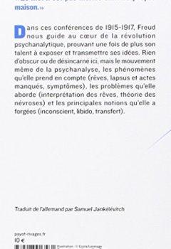 Livres Couvertures de Introduction à la psychanalyse