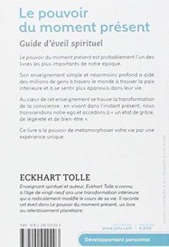 Livres Couvertures de Le pouvoir du moment présent - Guide d'éveil spirituel