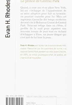 Livres Couvertures de Le prince de Central Park