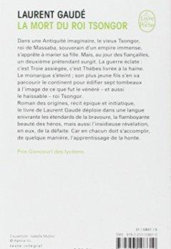 Livres Couvertures de La mort du roi Tsongor - Prix Goncourt des Lycéens 2002