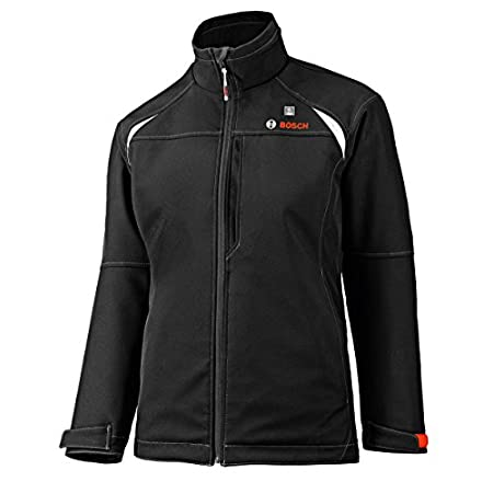 The Bosch PSJ120 12-Volt Max Heated Jacket is a high quality rain and wind resistant work jacket conveniently powered by the Bosch 12-Volt Max power tool battery system. Featuring three simple push-button heat settings - high, medium and low - the PS...
