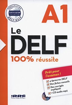 Livres Couvertures de Le DELF - 100% réusSite - A1 - Livre + CD