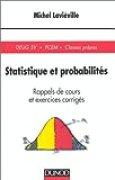 Statistique et probabilités : Rappels de cours et exercices corrigés