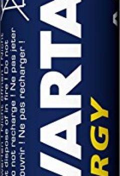 Livres Couvertures de Varta Energy Mignon AA pile alcaline (24-Pack)