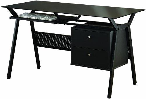 Picture of Comfortable Coaster Computer Desk, Black (B004T3CLSS) (Computer Desks)