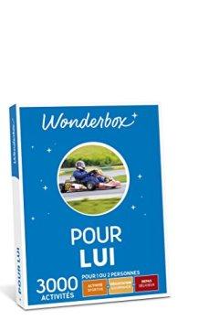 Livres Couvertures de WONDERBOX - Coffret cadeau - POUR LUI
