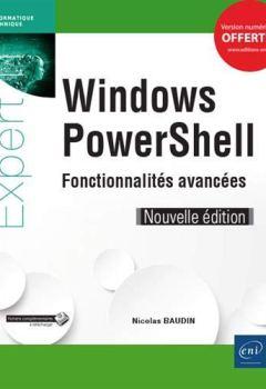 Livres Couvertures de Windows PowerShell - Fonctionnalités avancées (Nouvelle édition)