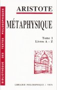 Livres Couvertures de Métaphysique, tome 1: livre A-Z