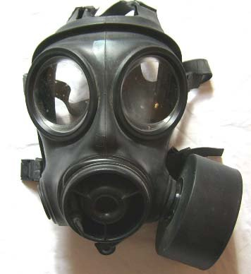 【英国特殊部隊使用】S10 ガスマスク SAS【軍放出品】 (2(M))