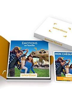 Livres Couvertures de SMARTBOX - Émotions en famille - Coffret cadeau vacances - À choisir parmi 410 activités sportives, culturelles et gourmandes. Offrez un moment de complicité pour 3 à 6 personnes