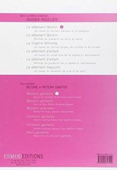 Livres Couvertures de Le vêtement féminin : Tome 1, Les bases de jupes, de corsages, de chemisiers et de robes, édition bilingue français-anglais