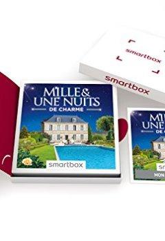 Livres Couvertures de SMARTBOX - Coffret Cadeau - 1001 NUITS DE CHARME - 1001 séjours : hôtels de 3* à 5*, maisons d'hôtes, hébergements insolites, châteaux