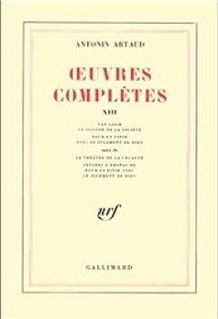 Livres Couvertures de Oeuvres complètes, tome 13
