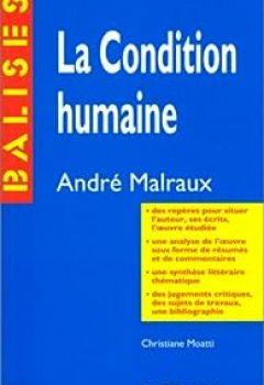 Livres Couvertures de La condition humaine, André Malraux