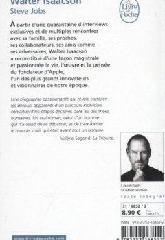 Livres Couvertures de Steve Jobs